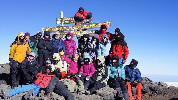08 Kilimanjaro - to Uhuru and High Camp