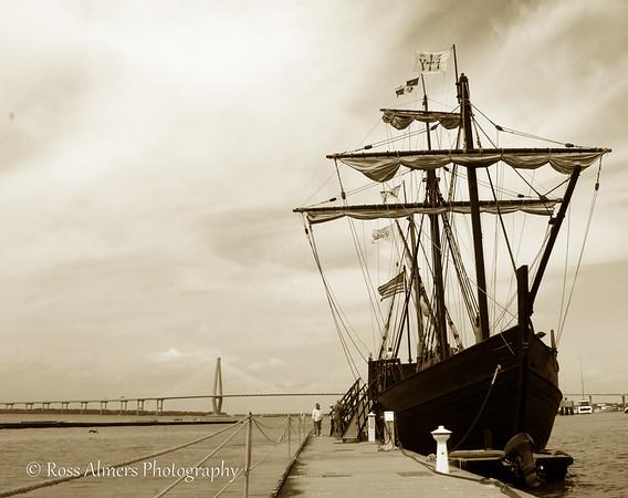 Columbus' Ships The Nina and The Pinta