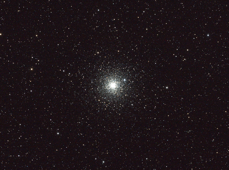 Caldwell 93 - NGC6752 - Starfish or Windmill Globular Cluster - 26/8/2011 - Dark Sky site near Wagin (Processed cropped stack)
