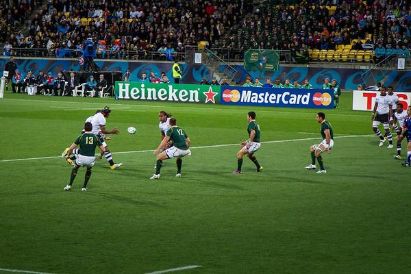 South Africa v Fiji - RWC 2011