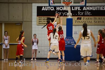 Basketball Girls SHS vs Cyprus 2-20-2012