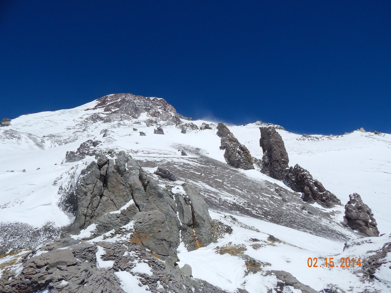 View towards Camp 3