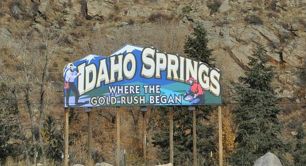 Idaho Springs, Colorado, Mon., Oct. 24, 2016