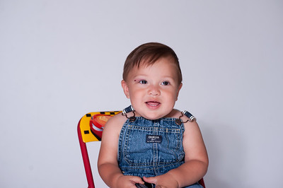 Otto's First Birthday Portraits
