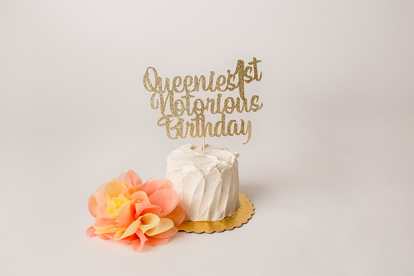 Queenie's Cake Smash (1st Birthday)