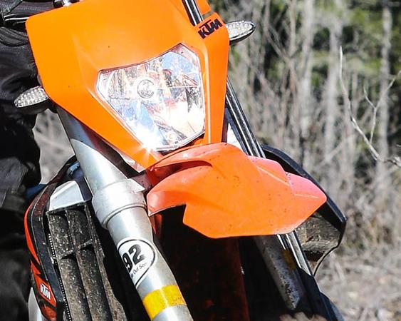 Orange Fenders