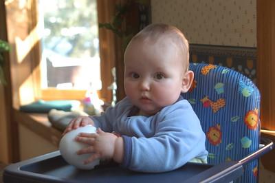 Jack at Nana & Papa's2005