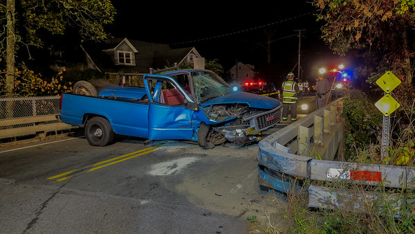10-7-17 MVA With Extrication, Sprout Brook Road @ Winston Lane