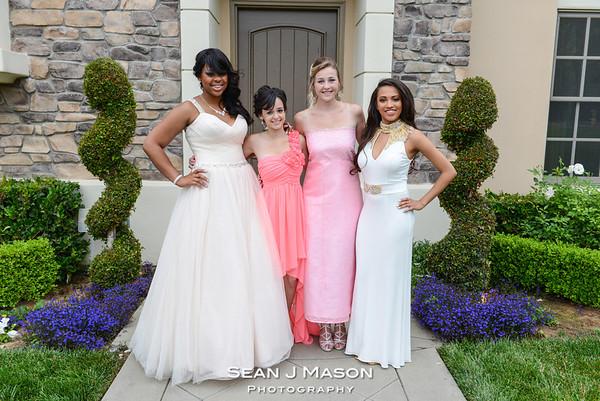 Ciyani Hatchett Prom 2014