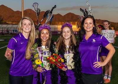 2017 Senior Night Girls Lacrosse