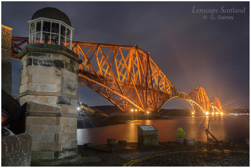 Forth Bridge from North Queensferry pier