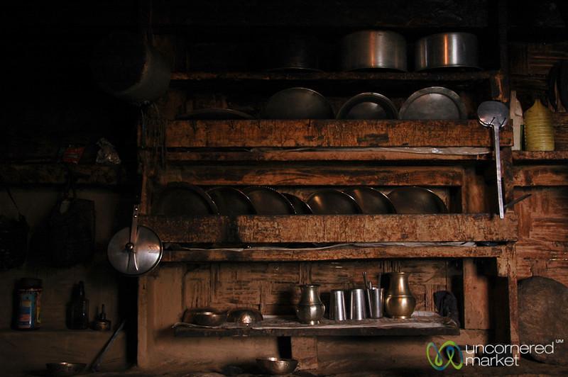 Neat Kitchen Area - Sikkim
