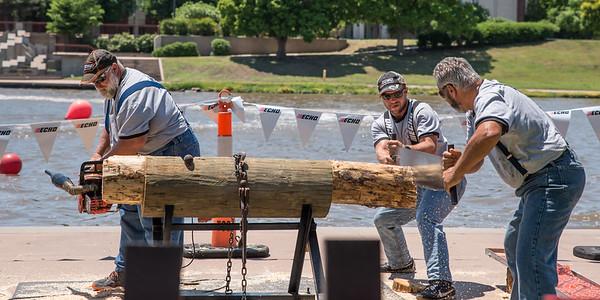 Paul Bunyon Lumberjack Show