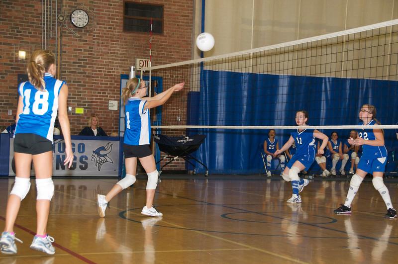 Hugo 5th Grade Volleyball  2010-10-02  10.jpg