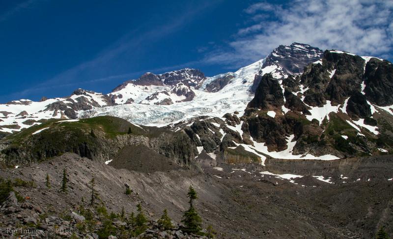 The Mountain from just below Emerald Bridge.