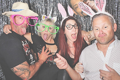 10-2-21 Atlanta Photo Booth - 50 Rocks Tour - Robot Booth