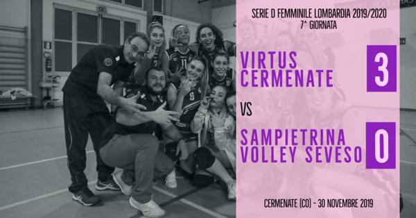 LOM-Df: 7^ Virtus Cermenate - Sampietrina Volley Seveso