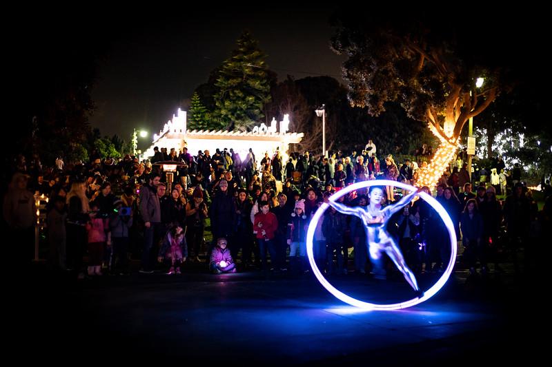 Marina del Rey's New Year's Eve Fireworks and Glow Party.  #ilovemdr.  © VenicePaparazzi.com