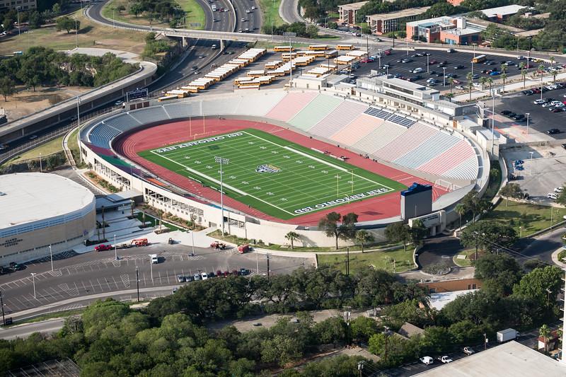 09/23/2014 092507 -- San Antonio, TX -- © Copyright 2014 Mark C. Greenberg  Alamo Stadium