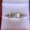 2.35ctw 7-Stone Step Cut Diamond Band 25