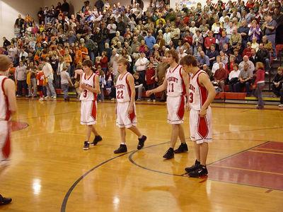Boys Varsity Basketball - 1/27/2006 Grant