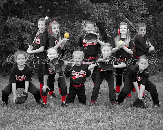 2011 Cherokee Softball