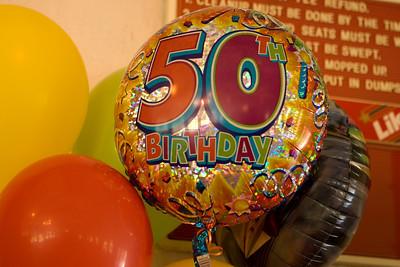 Doris is 50!