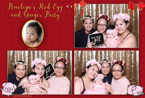Penelope's Red Egg and Ginger Party