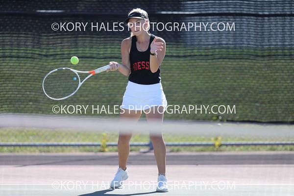 2020 Tennis Season--High School Girls