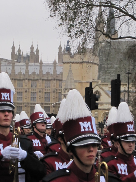London New Year's Day Parade 2011-MIHS Marching Band