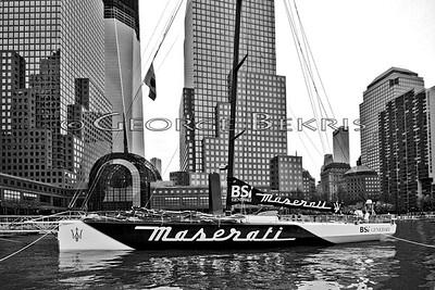 Giovanni Soldini and Maserati 2012