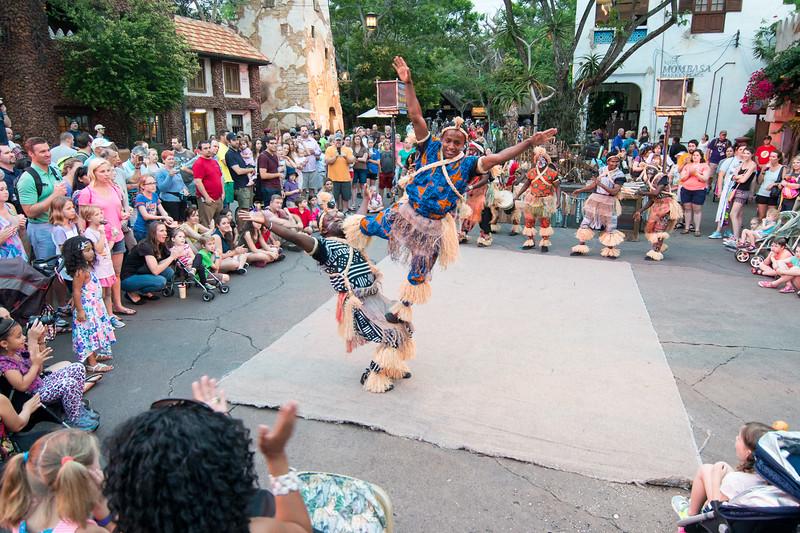 Animal Kingdom Dancers - Disney's Animal Kingdom, Walt Disney World