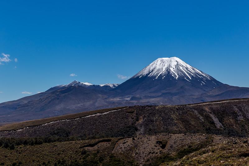 Mount Tongariro und Mount Ngauruhoe