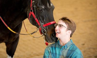 Michael Senior Photos~Horse 2020