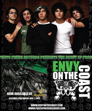 Envy On The Coast by Adam Elmakias for Rock Sound Magazine