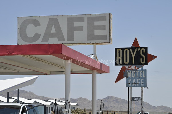 Roys Motel and Cafe in Amboy, CA