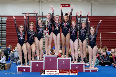 HS Sports - Cardinal Gymnastics Invite - Feb 02, 2019