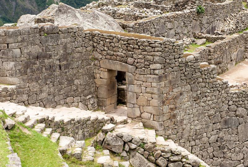Machu Picchu the main gate