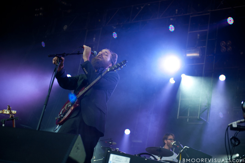 "Sam Beam of Iron & Wine performs on November 12, 2011 during ""Orlando Calling 2011"" at The Citrus Bowl in Orlando, Florida"
