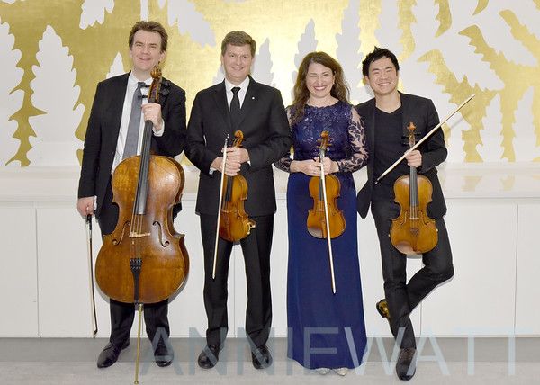 Jan 29, 2020 The Ehnes Quartet, Chamber Music  Society and Dinner