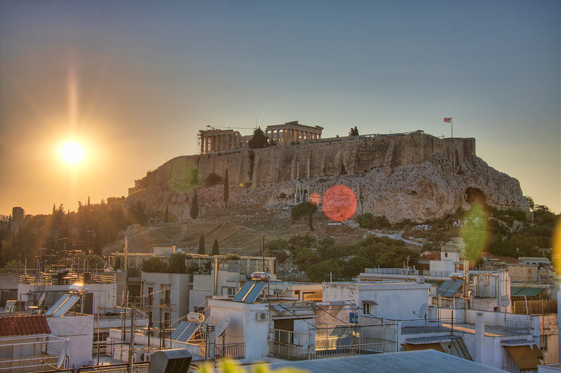 Empire of the Sun. The Acroplis of Athens, Greece. (HDR)