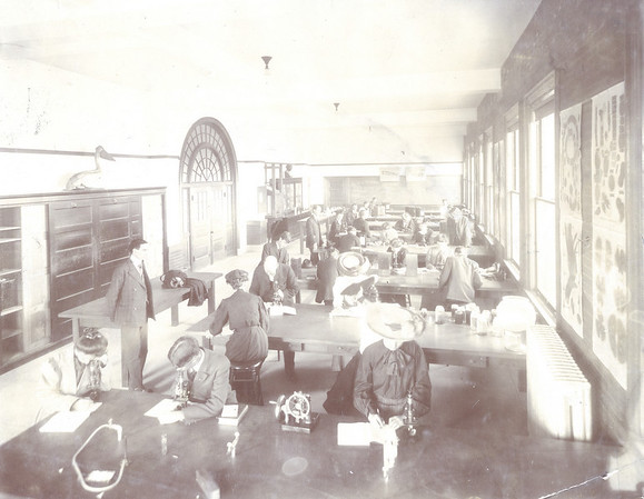 Palmer Hall Biology Lab 1906