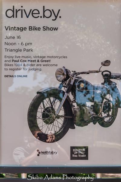 Stoney Point Fashion Park Vintage Bike Show 2018