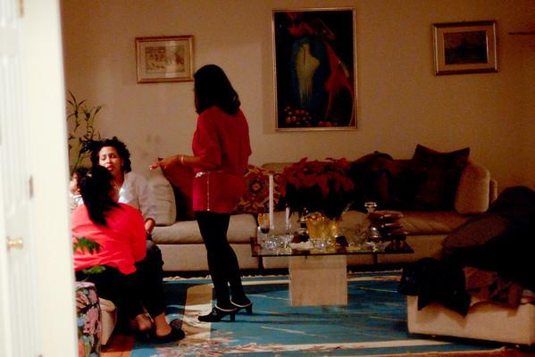Thanksgiving Chez Tante Lucienne/ Marie-Edith/Raphaelle et Victoria