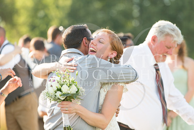 Ceremony- Carolyn & Chris Tittle- The Red Barn- Amherst, MA