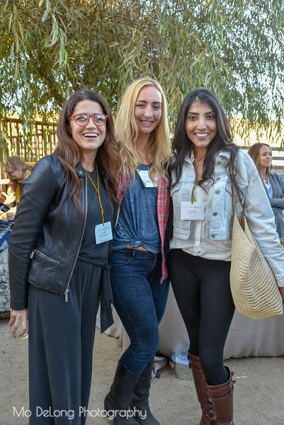 Brandi Watts, SaRah Johnson and Hemalee Patel