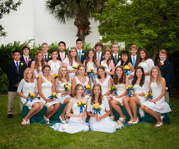 2012 8th Grade Graduation Photo