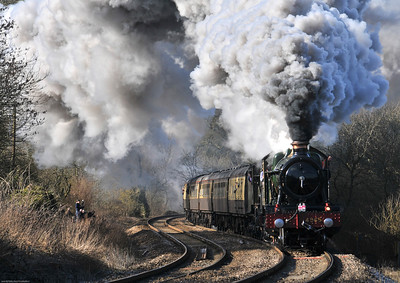 Steam trains and the Hand of Man
