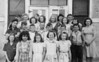 Whitney School.  1945-46 class picture.
