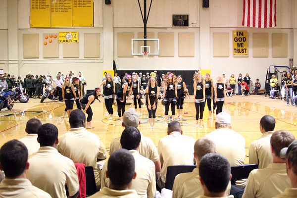 Cleburne Jacket Dancers Pep Rally Sept 11, 2009